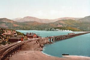 Cadair Idris and Barmouth Bridge, Pub. C.1900