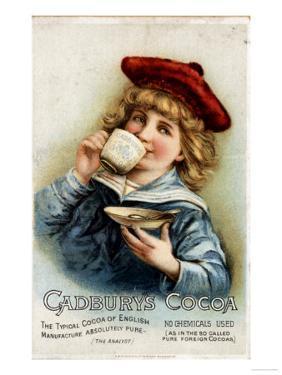 Cadbury's, Cocoa Drinking Chocolate, UK, 1890