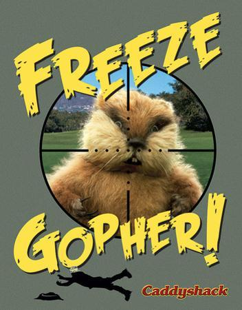 Caddyshack - Freeze Gopher