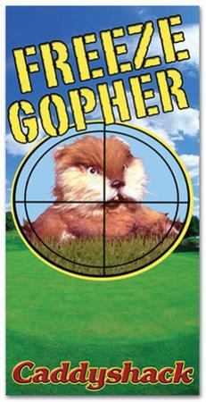 Caddyshack - Gopher Beach Towel
