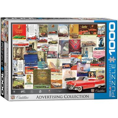 Cadillac Advertising Collection 1000 Piece Puzzle