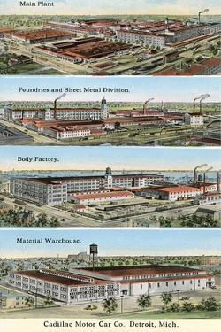 Cadillac Factories, Detroit