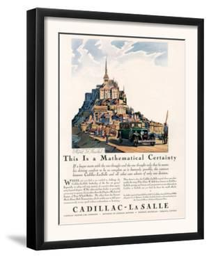 Cadillac La Salle, Magazine Advertisement, USA, 1929