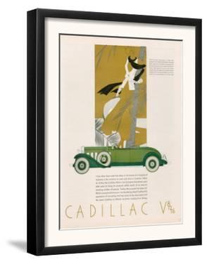Cadillac, Magazine Advertisement, USA, 1931