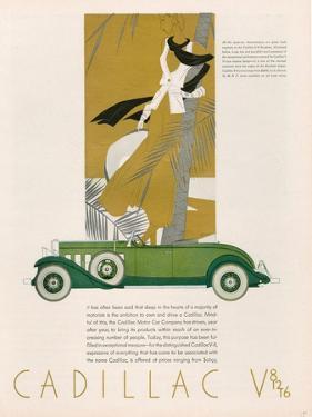 Cadillac, Magazine Advertisement, USA, 1931