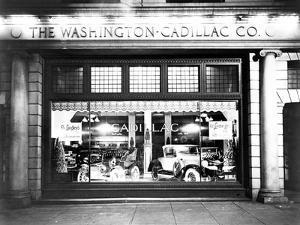 Cadillac Storefront, 1927