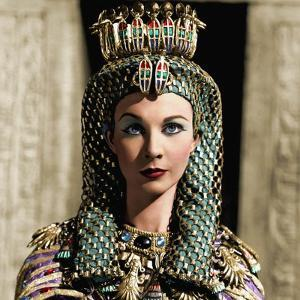 CAESAR AND CLEOPATRA, 1945 directed by GABRIEL PASCAL Vivien Leigh (photo)