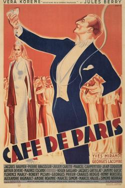 Cafe De Paris Theater Poster