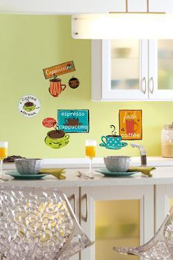 Café Peel & Stick Wall Decals
