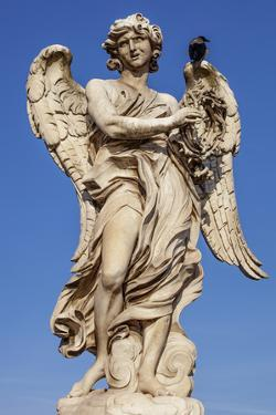 Angel with the Crown of Thorns, Sculpted by Gian Lorenzo Bernini on the Ponte Sant Angelo, Ponte by Cahir Davitt