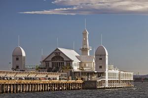 Cunningham Pier and Corio Bay, Geelong, Victoria, Australia. by Cahir Davitt