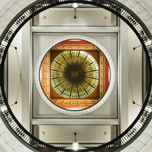 Dome of the Romanesque Revival Styled Queen Victoria Building, Sydney, New South Wales, Australia. by Cahir Davitt