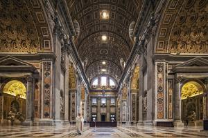 The South Transept of St. Peter's Basilica by Cahir Davitt