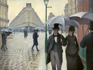Caillebotte, Paris Street, a Rainy Day