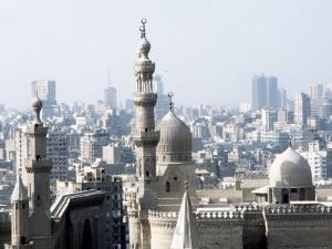 Cairo City, the Mosque of Sultan Hassan