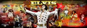 Cal Gold - Elvis Presley Panoramic Photo