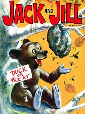 Trouble Brewing! - Jack and Jill, October 1970 by Cal Massey