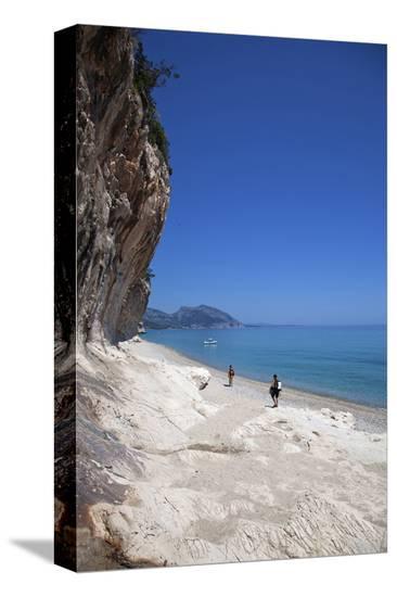 Cala Luna bay, Province of Nuoro, Sardinia, Italy--Stretched Canvas Print