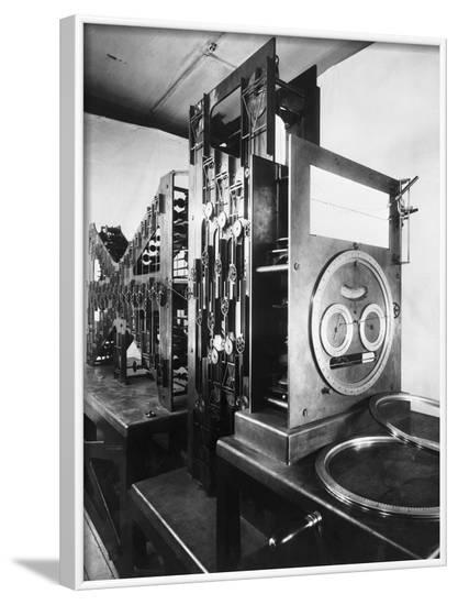 Calculating Machine for Predicting Tides--Framed Photographic Print