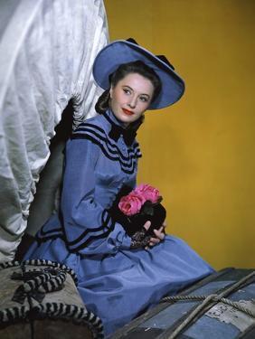 CALIFORNIA, 1946 directed by JOHN FARROW Barbara Stanwyck (photo)