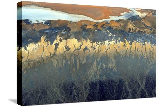 California Aerial-Tanja Ghirardini-Stretched Canvas