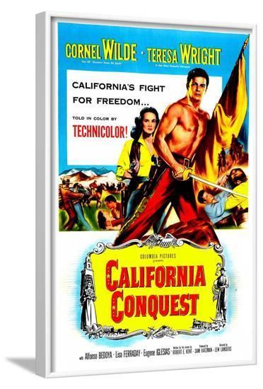 California Conquest--Framed Art Print