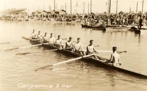 California Eight Oar Rowing Team