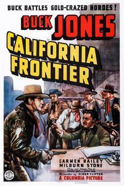 California Frontier, Left: Buck Jones, 1938