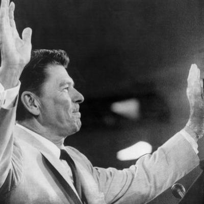 California Governor Ronald Reagan, Republican National Convention, Miami, Florida, August 1968