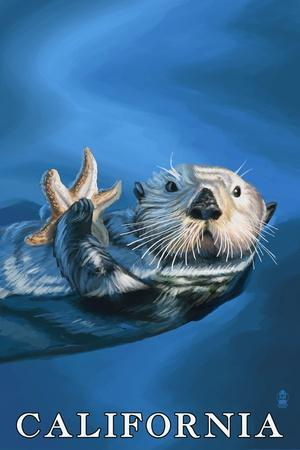 https://imgc.allpostersimages.com/img/posters/california-sea-otter-with-starfish_u-L-Q1GQPEN0.jpg?p=0