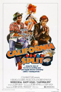California Split, Elliott Gould, George Segal, 1974