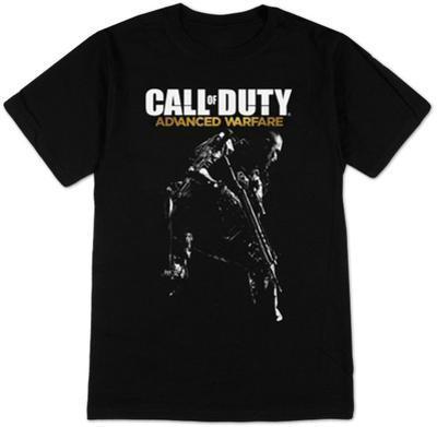 Call of Duty Advanced Warfare - Logo & Gunman