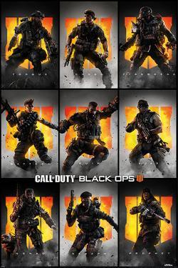 Call Of Duty: Black Ops 4 - Characters