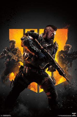 CALL OF DUTY  BLACK OPS 4 - GROUP KEY  ART