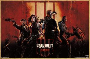 CALL OF DUTY:  BLACK OPS 4 - ZOMBIE  KEY ART