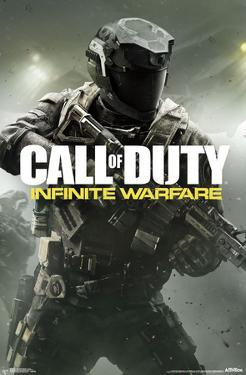 Call Of Duty Infinite Warfare- Cover Art