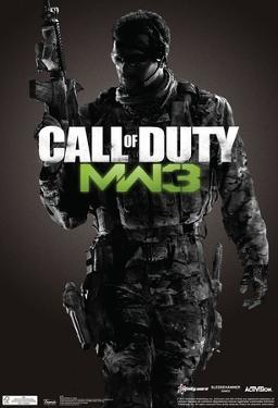 Call Of Duty Modern Warfare 3 Video Game Poster