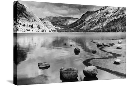 Calm Waters, Yosemite National Park, California--Stretched Canvas Print