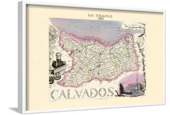 Calvados-Alexandre Vuillemin-Framed Art Print