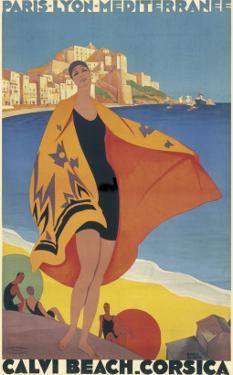 Calvi Beach, Corsica