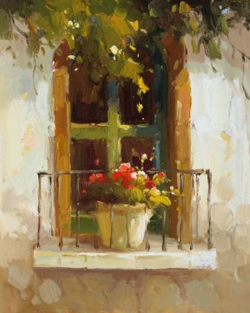 Romantic Window II by Calvin Stephens