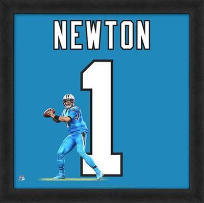 Cam Newton, Carolina Panthers - Framed Photographic Representation Of The Player's Jersey