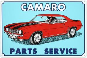 Camaro Tin Sign