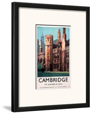 Cambridge It's Quicker by Rail, Peterhouse