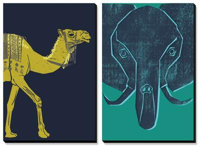 Camel and Elephant