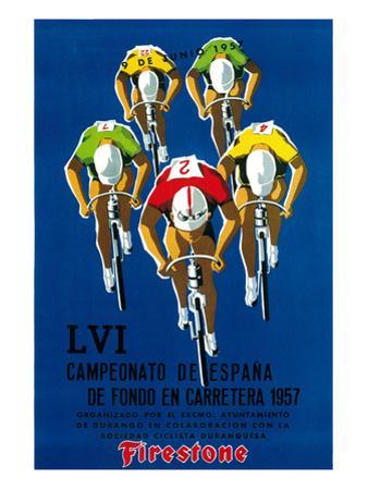 Cameonato de Espana de Fondo en Carretera, 1957