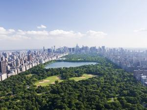 Aerial View of Central Park by Cameron Davidson