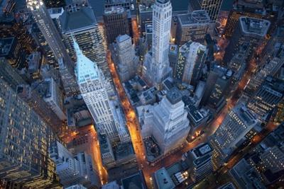Aerial View of Wall Street by Cameron Davidson