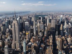 Manhattan Skyline by Cameron Davidson