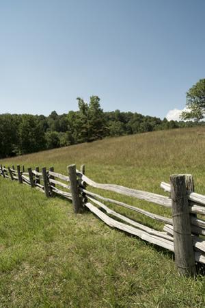 Split Rail Fence, Blue Ridge Parkway, Virginia by Cameron Davidson
